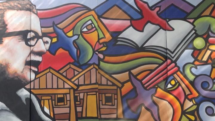 Grafitti in Chile