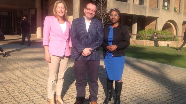 Anna Bryson, Kieran McEvoy and Venetia Govender, Cape Town