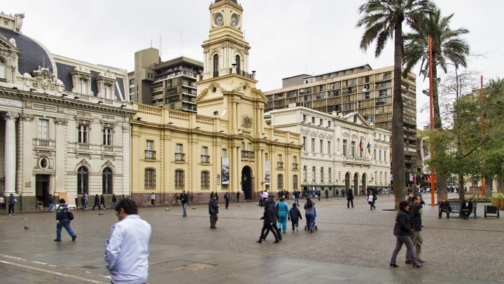 Plaza de Armas Chile - https://www.flickr.com/photos/9508280