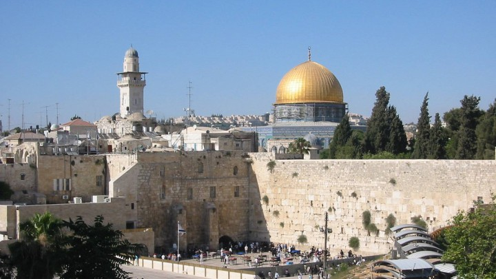 The Temple Mount Israel: https://www.flickr.com/photos/66309414@N04/6341137031